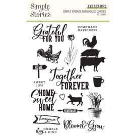 SV Farmhouse Garden - Stamps - Unit of 2