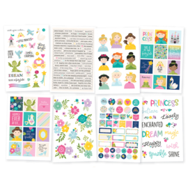 Little Princess 4x6 Stickers - Unit of 3