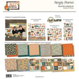 Fall Farmhouse Collectors Essentials Kit - Unit of 1