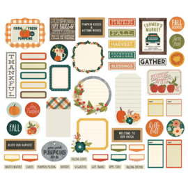 Fall Farmhouse Journal Bits & Pieces - Unit of 3