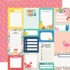 Sunkissed - Journal Elements - Unit of 5