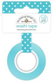 Swimming Pool Swiss Dot Washi Tape Unit of 3