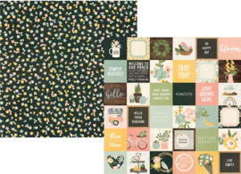 """Spring Farmhouse 2x2 Elements Double Sided 12x12"""" - Unit of 5"""