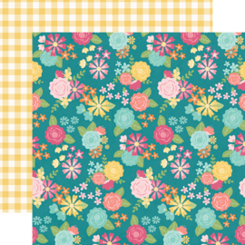 "Hip Hop Hooray Spring Fling Double Sided 12x12"" - Unit of 5"