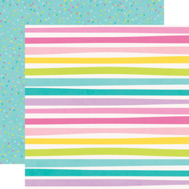 """Magical Birthday Let's Party Double Sided 12x12"""" - Unit of 5"""