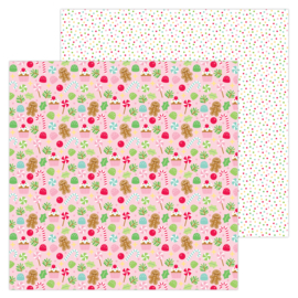 """Visions of Sugarplums 12x12"""" Double Sided 12x12""""  - Unit of 5"""
