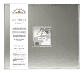 Silver Storybook Album 12x12 - Unit of 1