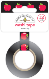An Apple a Day Washi Tape - Unit of 3