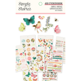 SV Garden District Sticker Book - Unit of 3