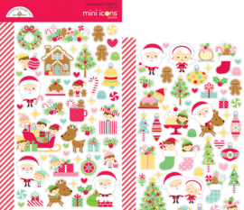 Christmas Magic Mini Icons Stickers - unit of 3