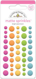 Bright Assortment Matte Sprinkles - Unit of 3