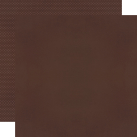 "Espresso Textured Cardstock Double Sided 12x12"" - Unit of 5"
