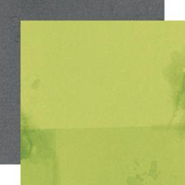 "SV North Pole - Mistletoe/Charcoal Double Sided 12x12"" - Unit of 5"