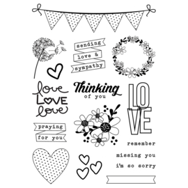 Always in My Heart 4x6 Stamps - Unit of 1