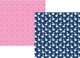 "Simply Charming Sided Double 12x12"" - Unit of 5"