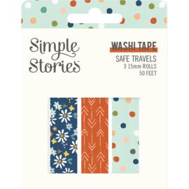 Safe Travels - Washi Tape - Unit of 3