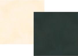 "Spring Farmhouse Black/Cream Double Sided 12x12"" - Unit of 5"