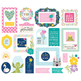 Little Princess Tags & Frames - Unit of 3