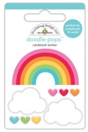 I ♥ Rainbows Doodlepop     - Unit of 3