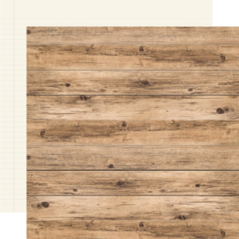 """Hickory Cream Double Sided 12x12"""" - Unit of 5"""