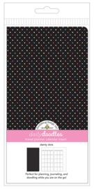 Dainty Dots Daily Doodles Travel Planner Inserts - Unit of 1