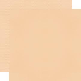 "Fall Farmhouse Peach/Dots Double Sided 12x12"" - Unit of 5"