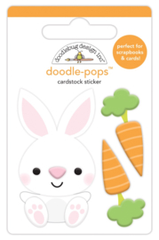 Baby Bunny Mini Doodlepop   - Unit of 3