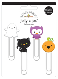 Halloween Pals Jelly Clips - Unit of 3