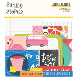 Sunkissed - Journal Bits - Unit of 3