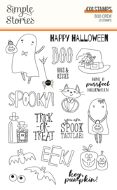 Boo Crew 4x6 Stamps - Unit of 2
