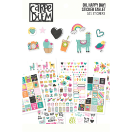 Oh Happy Day Sticker Tablet - Unit of 3