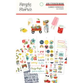 Summer Farmhouse Sticker Book - Unit of 3
