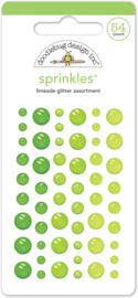 Limeade Glitter Sprinkles - Unit of 3