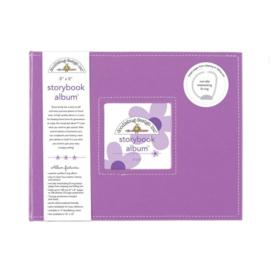 Lilac Storybook Album 8x8 - Unit of 1