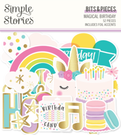 Magical Birthday  Bits & Pieces - Unit of 3