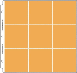 "4x4 Square Album Refill Protector 12x12"" Unit of 3"