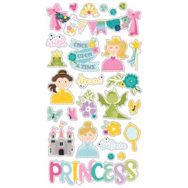 Little Princess 6x12 Chipboard - Unit of 3