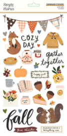 Cozy Days 6x12 Chipboard - Unit of 3