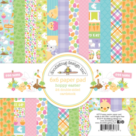 Hoppy Easter 6x6 Paperpad - Unit of 3