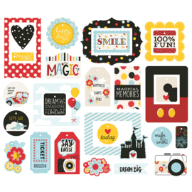 Say Cheese 4 Tags & Frames - Unit of 3