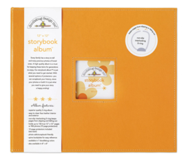 Tangerine Storybook Album 12x12 - Unit of 1