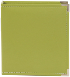 Green 6x8 Leather Binder - Unit of 2