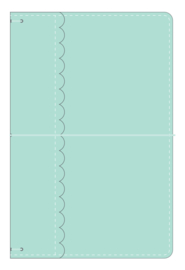 Mint Daily Doodles Travel Planner - Unit of 1