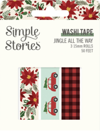 Jingle All the Way - Washi Tape - Unit of 3