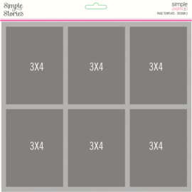 Simple Pages Page Template - Design 3 - Unit of 3