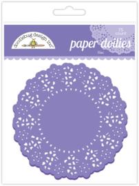Lilac Doilies - Unit of 3
