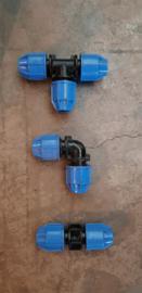 Plasson water koppelingen 16mm