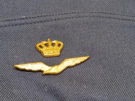 Schuitje Luchtmacht met embleem