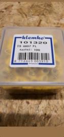 Klemko kabelschoen geel