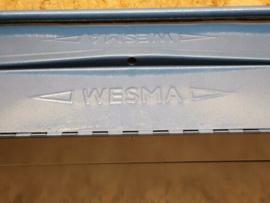 Wesma gereedschapskist kist metaal 53,5x19,5x16cm nieuw